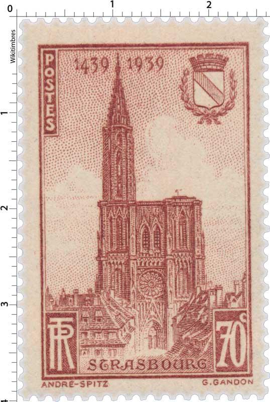 STRASBOURG 1439-1939