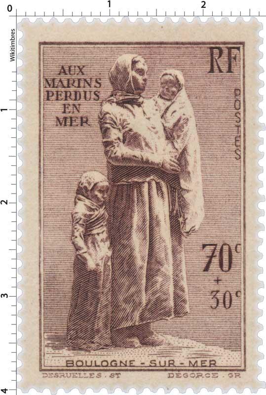 AUX MARINS PERDUS EN MER BOULOGNE-SUR-MER