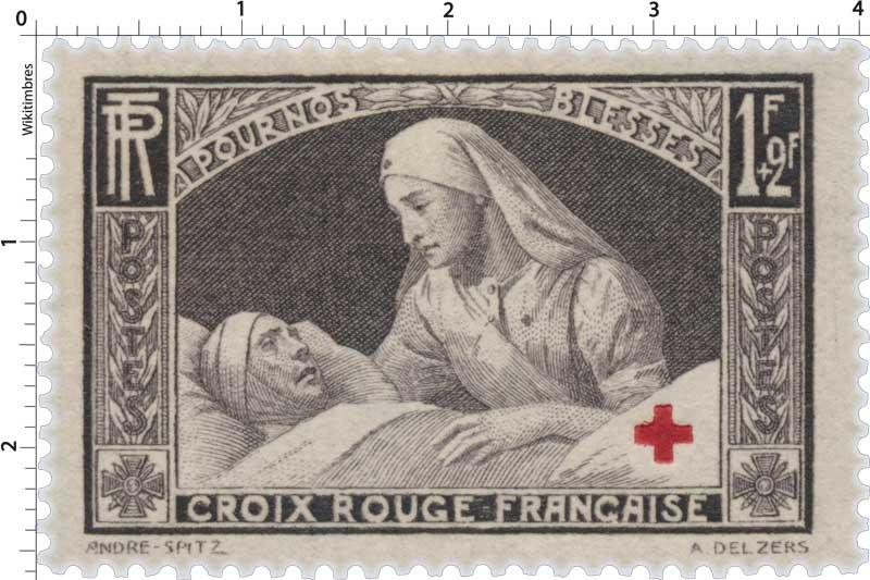 POUR NOS BLESSÉS CROIX-ROUGE FRANÇAISE