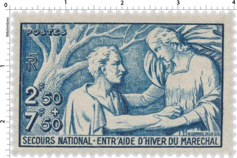 SECOURS NATIONAL-ENTR'AIDE D'HIVER DU MARÉCHAL
