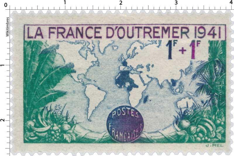 LA FRANCE D'OUTREMER 1941