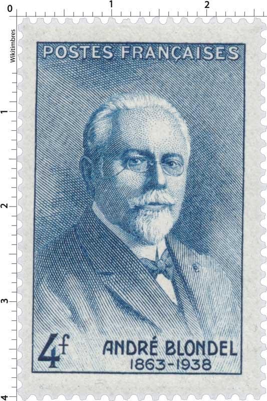 ANDRÉ BLONDEL 1863-1938