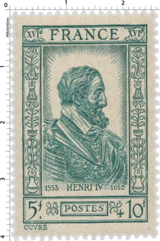 HENRI IV 1553-1610