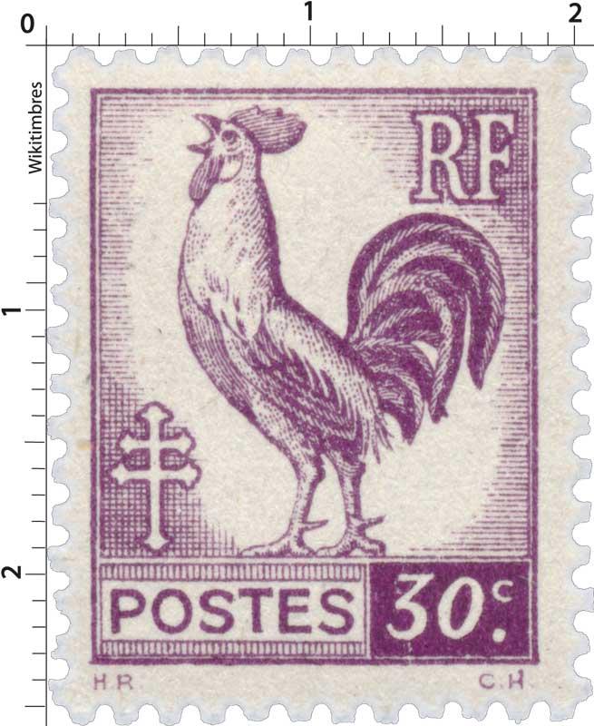 Sans légende particulière - Type Coq d'Alger