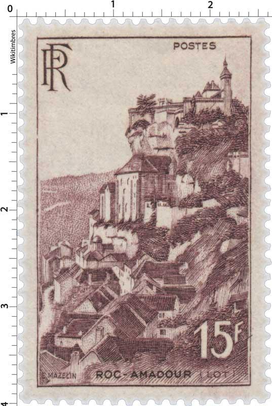 ROC-AMADOUR (LOT)