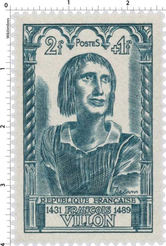 FRANÇOIS VILLON 1431-1489