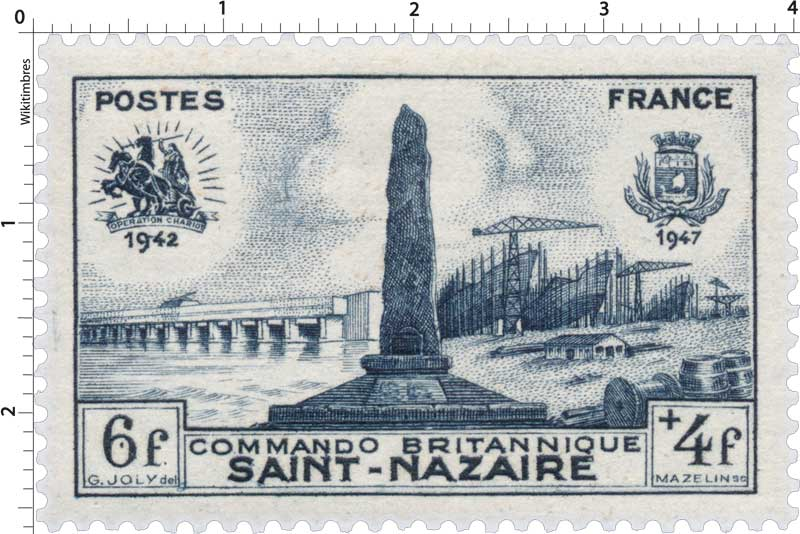 COMMANDO BRITANNIQUE SAINT-NAZAIRE