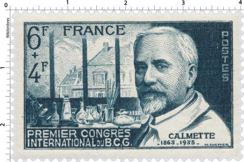 PREMIER CONGRÈS INTERNATIONAL DU B.C.G. CALMETTE -1863-1933