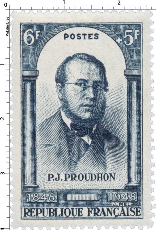P.J. PROUDHON 1848-1948