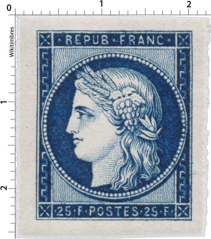 REPUB - FRANC - type Cérès