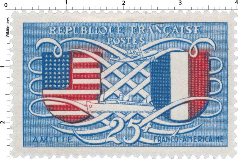 AMITIÉ FRANCO-AMÉRICAINE