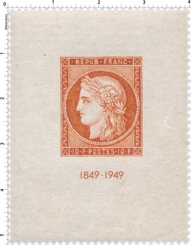 1849-1949 - type Cérès