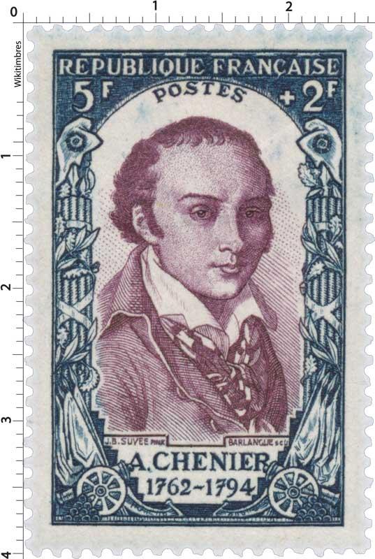 A. CHÉNIER 1762-1794