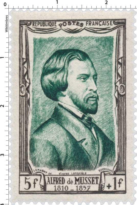 ALFRED de MUSSET 1810 -1857