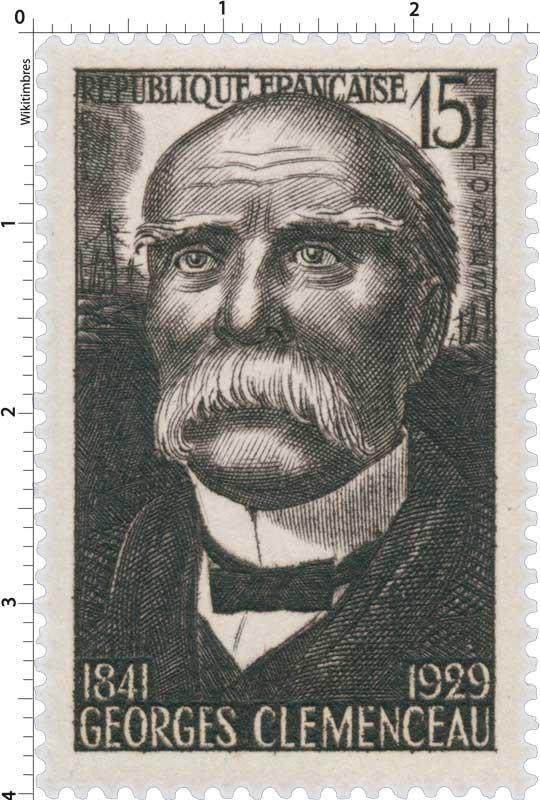 GEORGES CLEMENCEAU 1841-1929