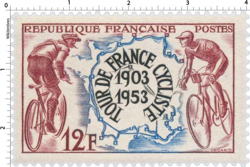 TOUR DE FRANCE CYCLISTE 1903-1953