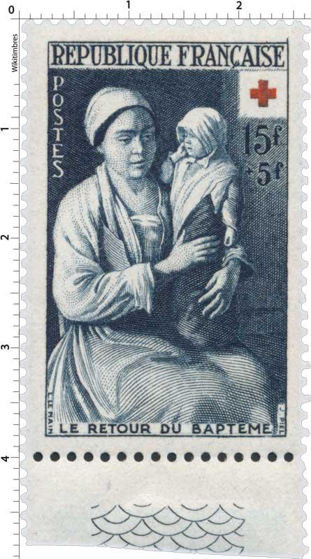 LE RETOUR DU BAPTÊME