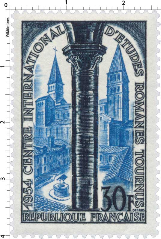 1954 CENTRE INTERNATIONAL D'ÉTUDES ROMANES TOURNUS
