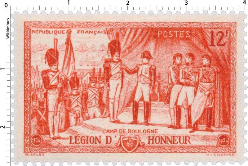 CAMP DE BOULOGNE LÉGION D'HONNEUR