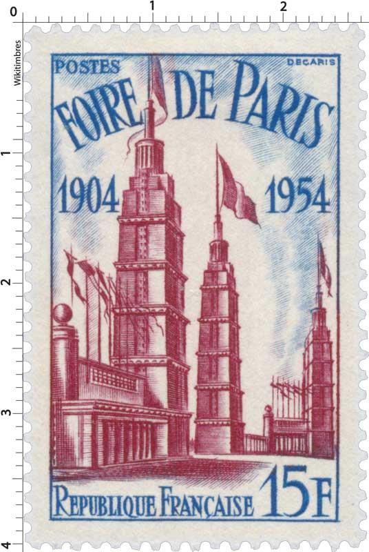 FOIRE DE PARIS 1904-1954