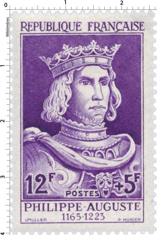 PHILIPPE-AUGUSTE 1165-1223