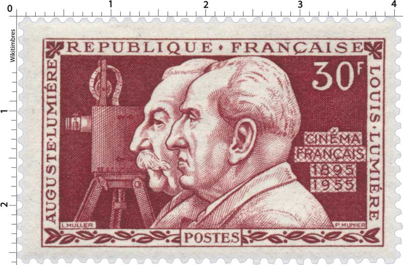 AUGUSTE LUMIÈRE LOUIS LUMIÈRE CINÉMA FRANÇAIS 1895-1955