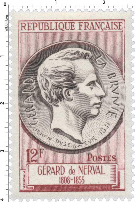 GÉRARD LA BRUNIE GÉRARD de NERVAL 1808-1855 JEHAN DUSEIGNEUR 1831