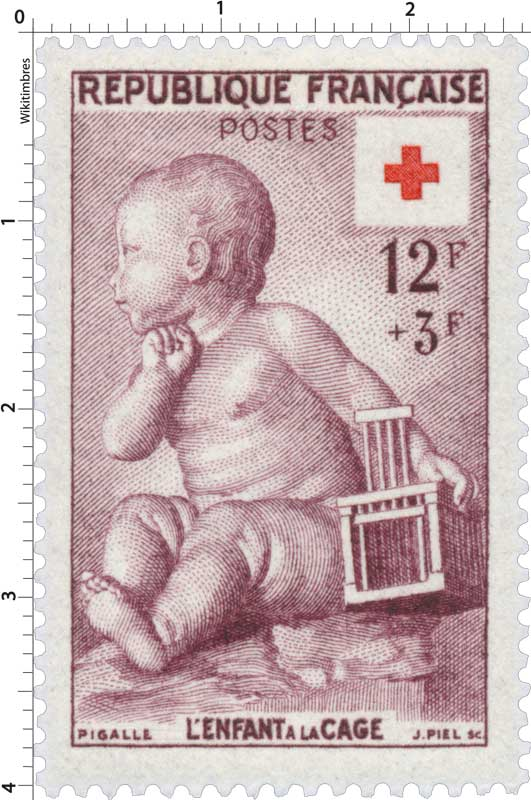 PIGALLE L'ENFANT A LA CAGE