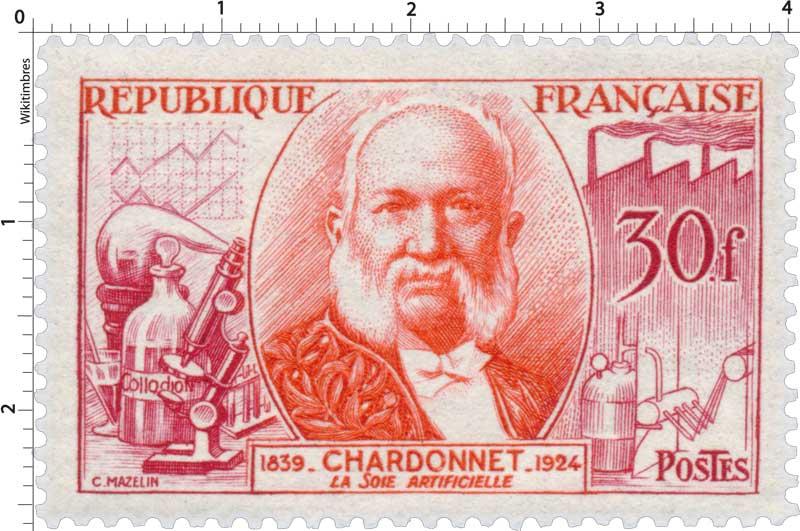 LA SOIE ARTIFICIELLE CHARDONNET 1839-1924