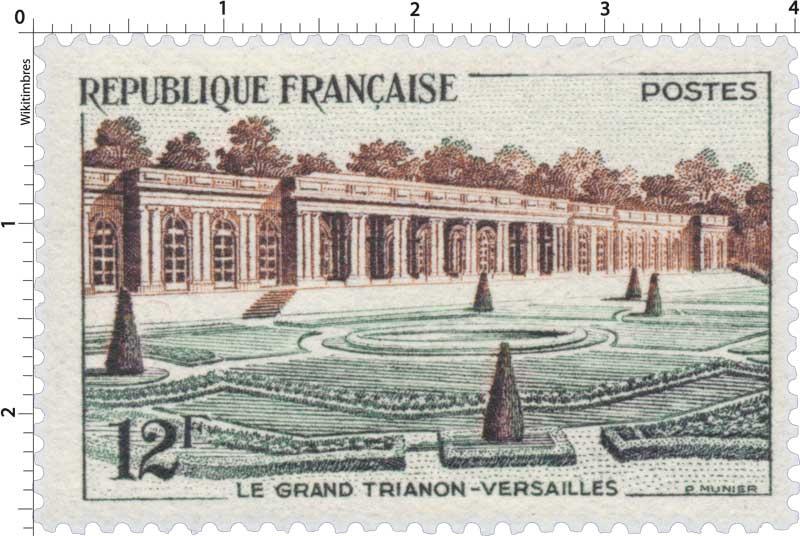 LE GRAND TRIANON-VERSAILLES