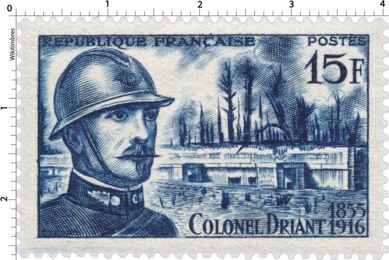 COLONEL DRIANT 1855-1916