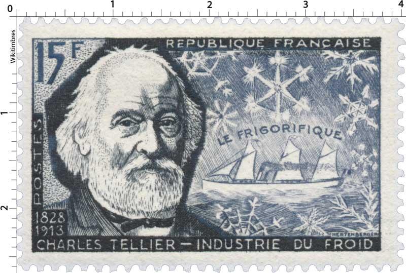 LE FRIGORIFIQUE CHARLES TELLIER 1828-1913 INDUSTRIE DU FROID