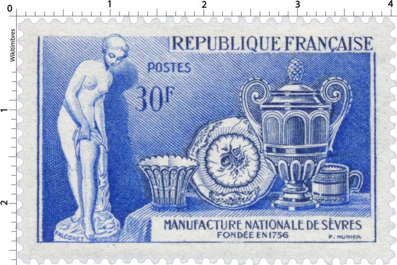 MANUFACTURE NATIONALE DE SÈVRES FONDÉE EN 1756