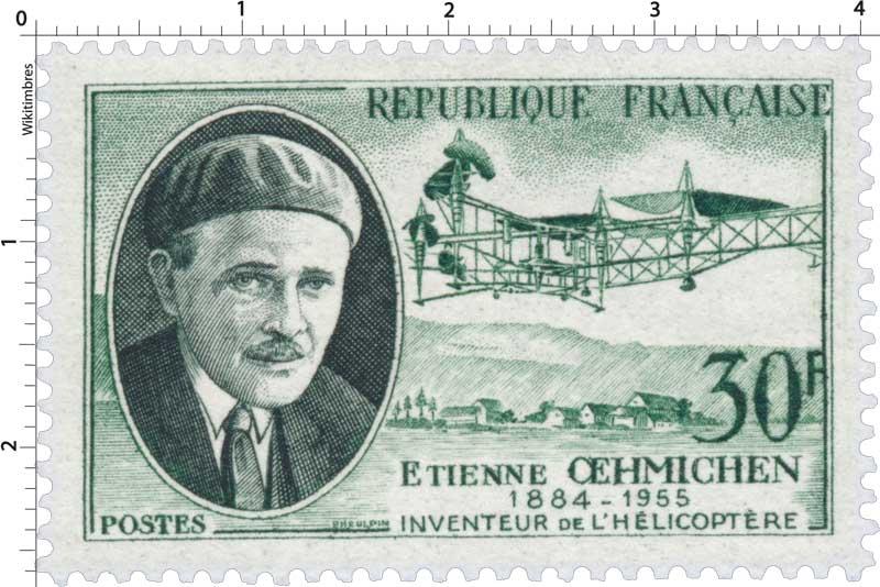 ETIENNE ŒHMICHEN 1884-1955 INVENTEUR DE L'HÉLICOPTÈRE