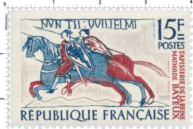Timbre Nuntii Willelmi Tapisserie De La Reine Mathilde Bayeux