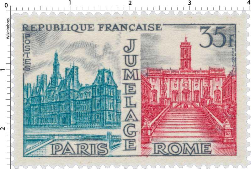 JUMELAGE PARIS ROME
