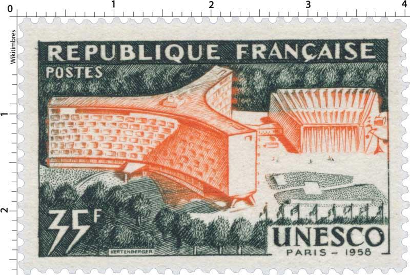 UNESCO PARIS 1958