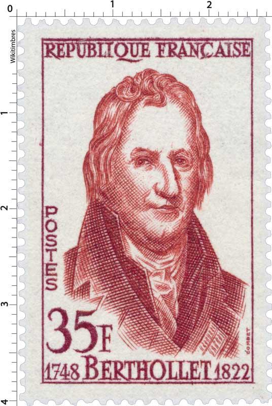 BERTHOLLET 1748-1822