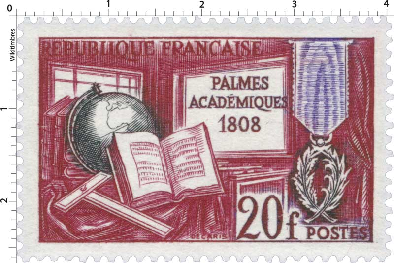 PALMES ACADÉMIQUES 1808