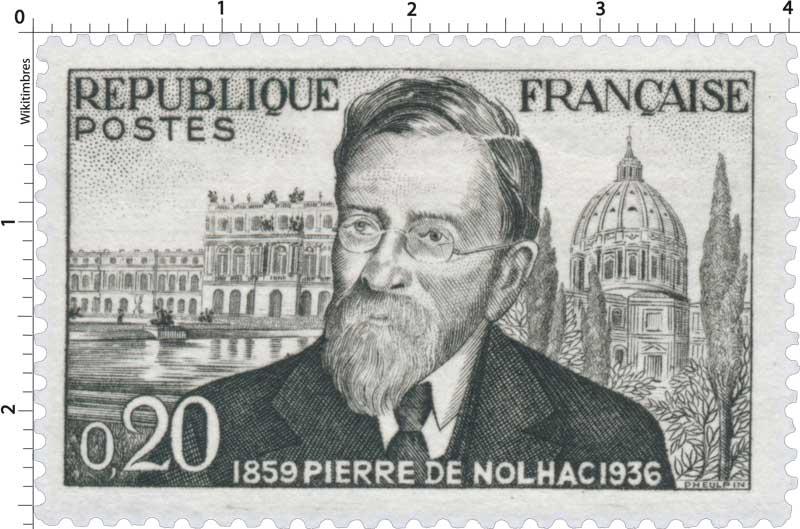 Timbre : PIERRE DE NOLHAC 1859 1936 | WikiTimbres