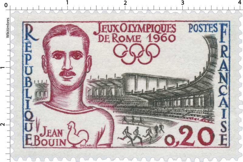 JEUX OLYMPIQUES DE ROME 1960 JEAN BOUIN