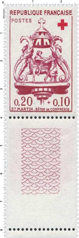 St MARTIN - BÂTON DE CONFRÉRIE