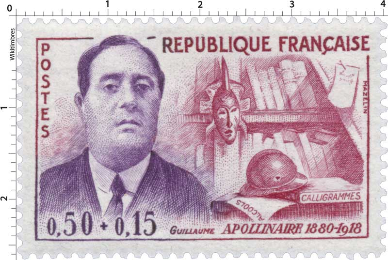 GUILLAUME APOLLINAIRE 1880-1918