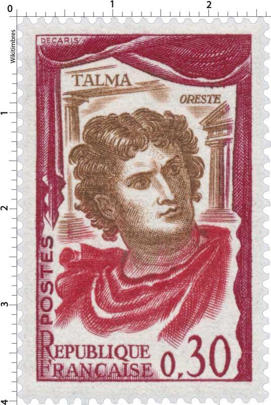 TALMA - ORESTE