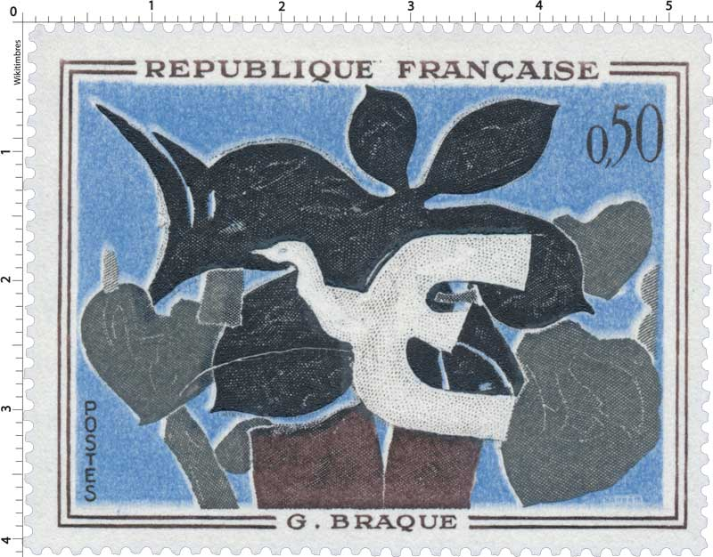 Timbre g braque wikitimbres for Braque oeuvres