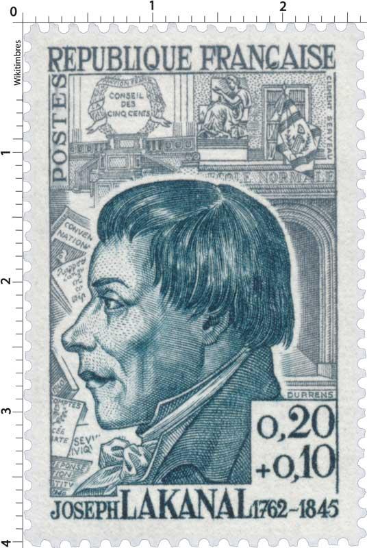 JOSEPH LAKANAL 1762-1845