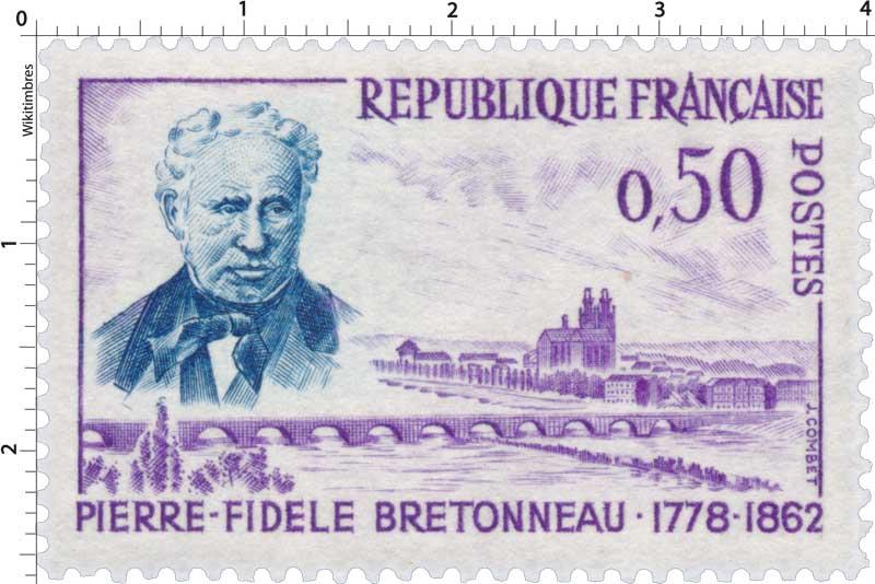 Timbre : PIERRE-FIDÈLE BRETONNEAU 1778-1862 | WikiTimbres