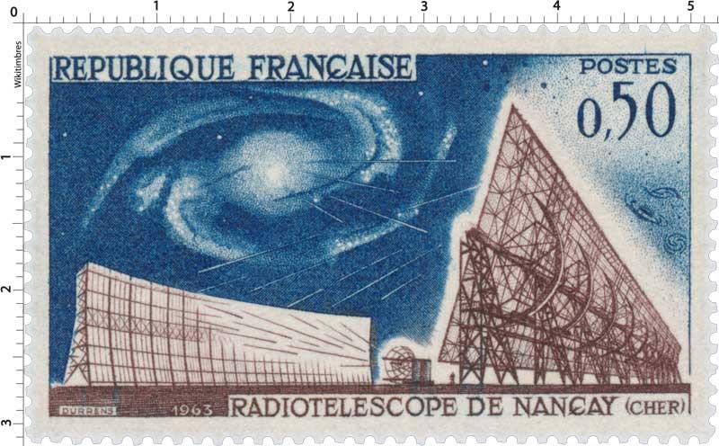 1963 RADIOTÉLESCOPE DE NANÇAY (CHER)