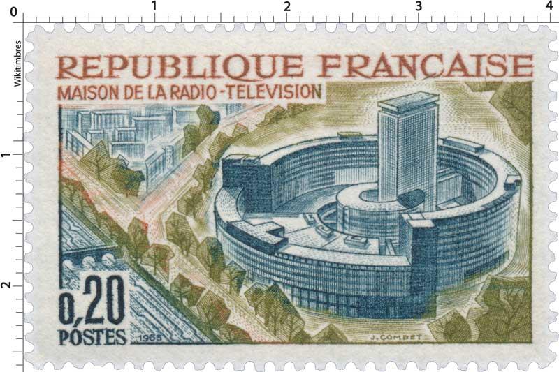1963 MAISON DE LA RADIO-TÉLÉVISION