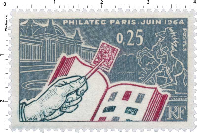1963 PHILATEC PARIS JUIN 1964